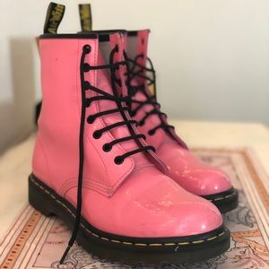Bubblegum Pink Dr. Martens Boots